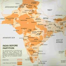 India States Map Map Of The Princely States In British India 1940 4948x4934