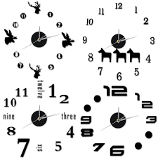 diy large wall clock promotion shop for promotional diy large wall