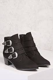 s boots with buckles boots booties for faux leather glitter suede forever21