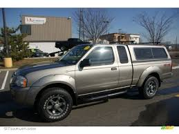 frontier nissan 2004 2004 polished pewter metallic nissan frontier xe v6 king cab 4x4