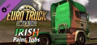 euro truck simulator 2 irish paint jobs pack on steam