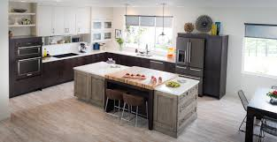 Pictures Of Kitchens With White Cabinets And Black Countertops Be Bold With Black Stainless Steel Appliances Kitchenaid