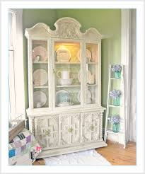 shabby chic china cabinet shabby farmhouse china cabinet makeover fox hollow cottage
