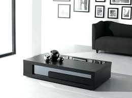 Black Glass Side Table Modern Black Glass Side Tables Table Bedside Coffee Set Living