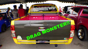 yellow toyota truck toyota hilux modified drag truck the yellow monster