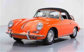 porsche sedan convertible rare orange 1965 porsche 356 c cabriolet classiccars com journal