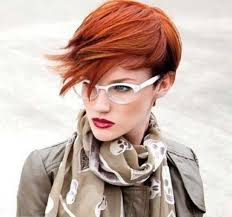copper and brown sort hair styles funky short haircuts 2014 hair the pixie pinterest funky