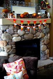 fall project reversible candy corn bunting