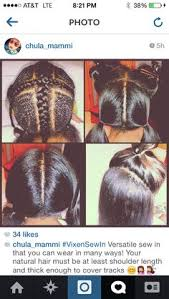 can you use syntheic on a vixen sew in vixen sew in braid pattern hair inspiration pinterest style