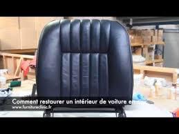 reparation siege cuir voiture comment réparer un intérieur de voiture en cuir
