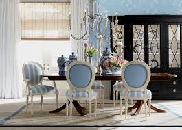 Ethan Allen Dining Room Create A Style Dining Room With Contrasting Fabrics