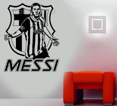 aliexpress com buy free shipping messi cool wall stickers aliexpress com buy free shipping messi cool wall stickers service soccer player barcelona wall decal morden design shopping boy bedroom from reliable boy