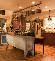 primitive decorating ideas for kitchen home decor primitive decorating primitive kitchen island