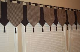 Kitchen Curtain Ideas Pinterest by Kitchen Black And White Kitchen Curtain Ideas With Geometric