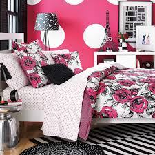 pink and white girls bedding charming pink and black teen girls bedroom rooms ideas room scenic
