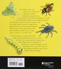 beaded bugs make 30 moths butterflies beetles and other cute