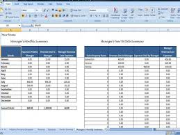 Property Management Excel Template Property Managers Template Rent Income And Expense Tracking