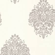 duchess silver damask wallpaper traditional wallpaper by