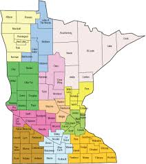 mn counties map minnesotaworks map search