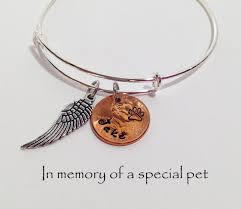 personalized pet memorial bracelet pet memorial dog memorial