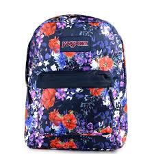 bloom backpack jansport superbreak backpack morning bloom js00t50133y at