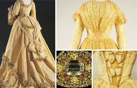 shades of victorian fashion butter lemon gold and yellow