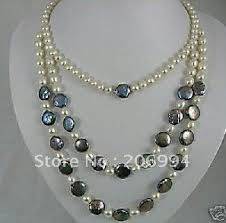 necklace pearl designs images New arrive design charming long black freshwater pearl necklace jpg
