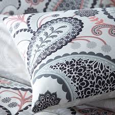 Paisley Single Duvet Cover Pieridae Paisley Duvet Quilt Bedding Cover And Pillowcase Shell