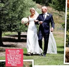 richie wedding dress pressreader woman s day nz 2017 01 16 wedding in wanaka