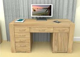 Oak Effect Computer Desk Small Oak Computer Desks For Home Desk Oak Effect Computer Desk