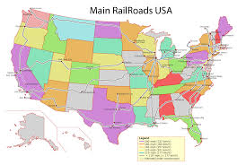 vector us map states free free vector map us railroads adobe illustrator pdf