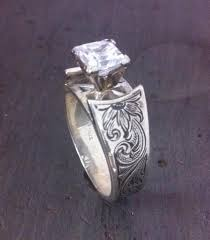 Western Wedding Rings by Rodeo Tales U0026 Gypsy Trails Matt Litz Silversmith Western Rings