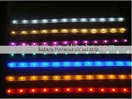 Led Strip Lights Battery Powered 5050smd Battery Powered Led Strip Lights For Motorbike Buy