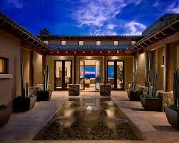 courtyard design exterior design nice mediterranean exterior with sleek cactus on