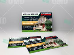we buy houses postcard 4 u2013 real estate lead generator
