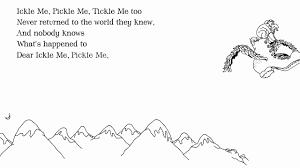 Light In The Attic Book Shel Silverstein U0027ickle Me Pickle Me Tickle Me Too U0027 From Where