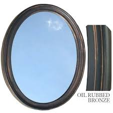 Oval Mirrors For Bathroom Oak Framed Mirrors Bathroom Oak Framed Oval Bathroom Mirrors Oval