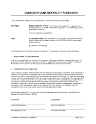 Customer Contract Template customer agreement template emsec info