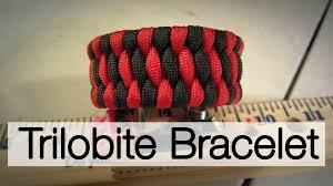 woven weave paracord bracelet images How to make a trilobite paracord bracelet jpg
