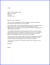 Telemarketer Synonym Cover Letter For Client Service Representative Gallery Cover