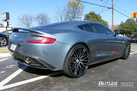 aston martin vanquish with 22in savini bm13 wheels exclusively