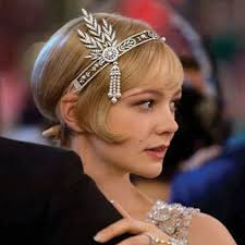 great gatsby hair accessories 1920s the great gatsby hair accessories pearl tassel leaf