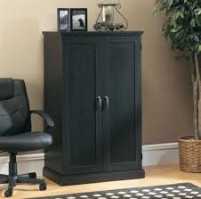 Black Armoire Computer Armoire Home Office Desk Space Saver Hideaway Furniture