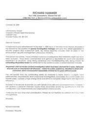 Example For Cover Letter For Resume by Firefighter Cover Letter Example Cover Letter Example Letter