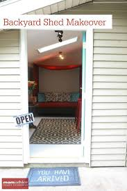 shed makeovers how to makeover a shed into a bonus room tour our shed momadvice