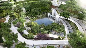 Singapore is building an entire forest in a high rise apartment