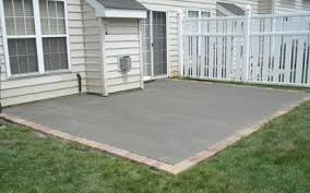 cement patio ideas officialkod com