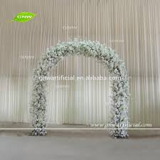 japanese wedding arches gnw fla161031 wedding arch wholesale floral backdrop arch for