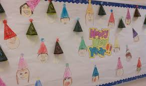 Board Decoration On Happy New Year by Mrs Ayala U0027s Kinder Fun Happy New Year