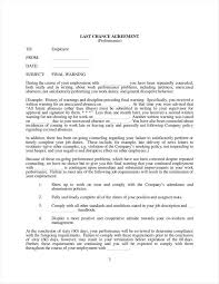 Termination Of Employment Letter To Employee by 8 Sample Final Warning Letters Free Samples Examples Formats